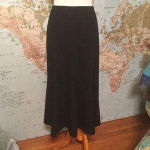 Eileen Fisher Brown Wool Skirt XS